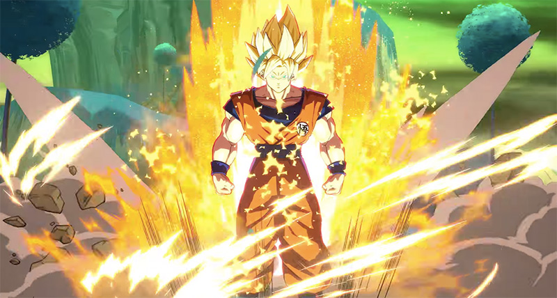 Dragon Ball FighterZ E3 2017 Goku