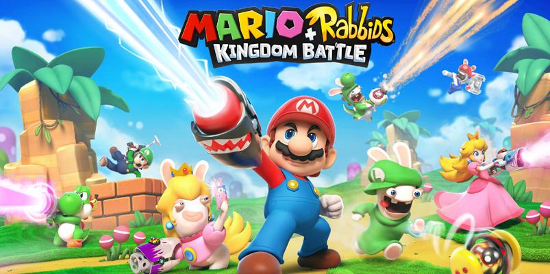 Mario + Rabbids Kingdom Battle llegará el 29 de agosto a Switch