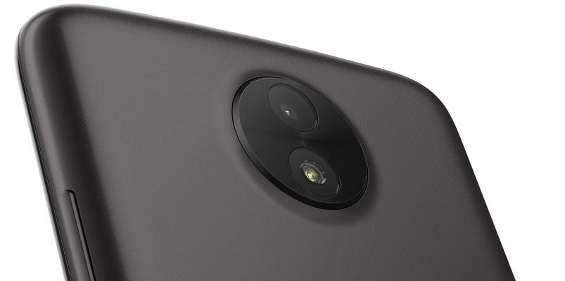 Moto C cámara