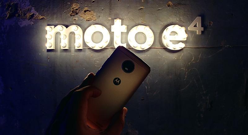 Moto E4 Plus Mexico camara