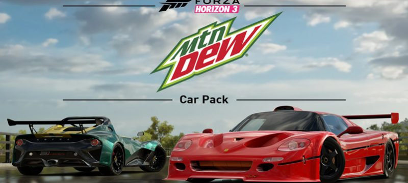 Mountain Dew Car Pack