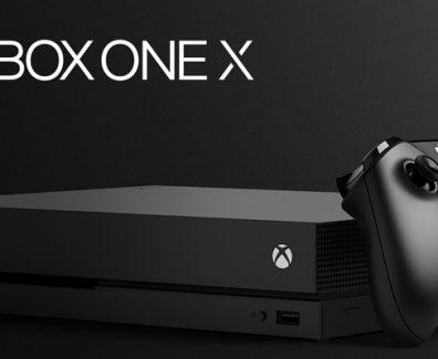 Xbox One X con control