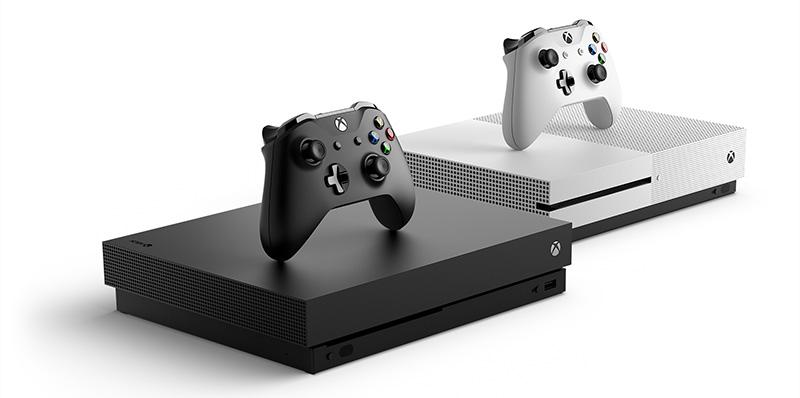 Xbox One X familia