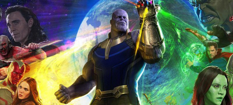 Avengers Infinity War poster completo SDCC