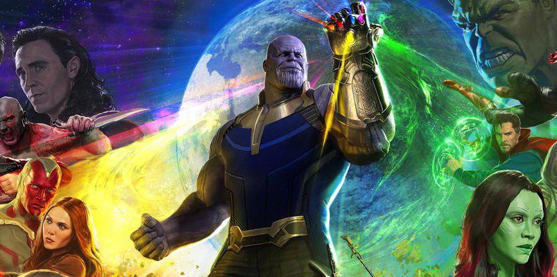 Póster completo de Avengers: Infinity War en Comic-Con San Diego