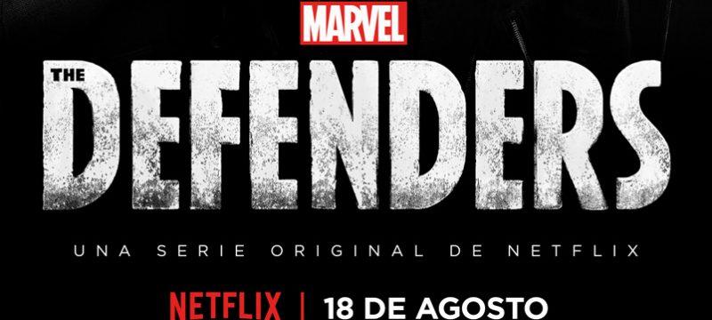 Defenders Netflix agosto 2017
