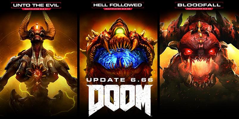 La actualización 6.66 de DOOM te da los tres DLC gratis