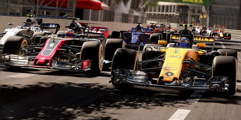 F1 2017 muestra sus primeras imágenes de gameplay
