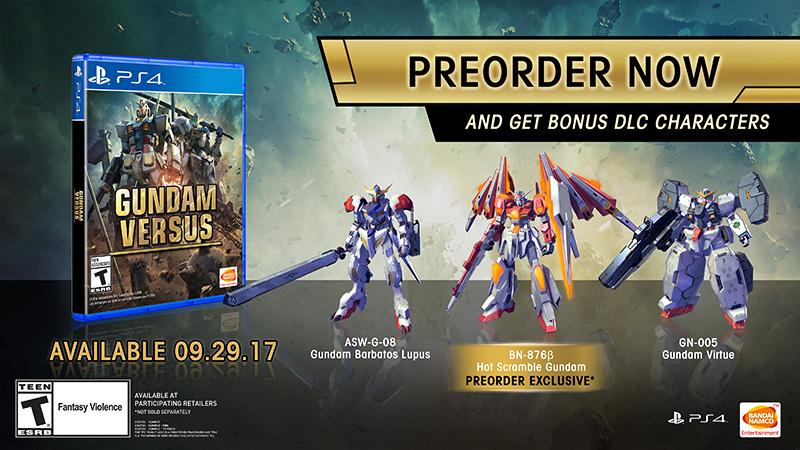 Gundam Versus Preventa