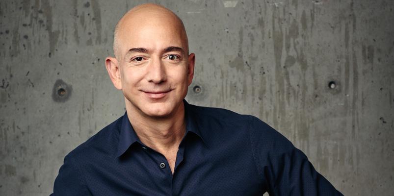 Jeff Bezos, CEO de Amazon, el hombre más rico del mundo