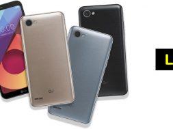 LG Q6 lanzamiento