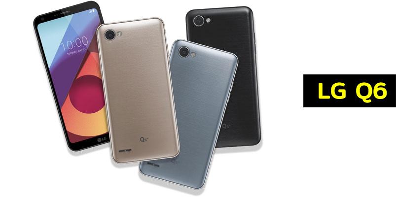 LG Q6 un smartphone gama media con pantalla FullVision