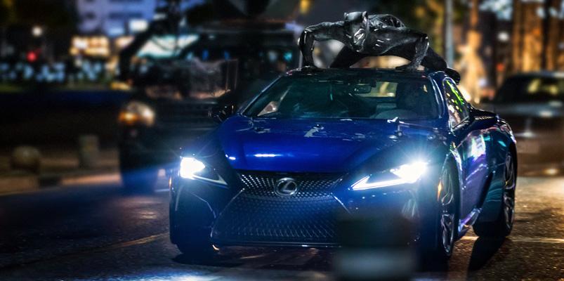 Lexus LC 2018 estará en la película de Black Panther