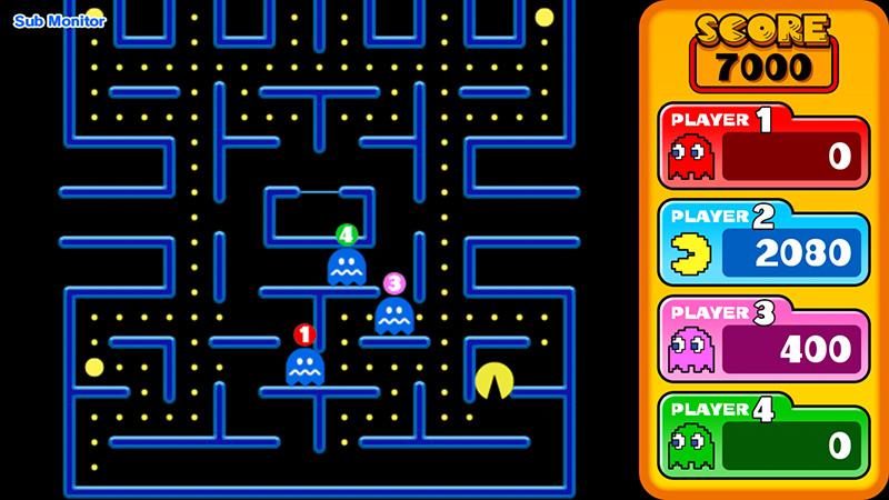 Pac Man Vs Namco Museum