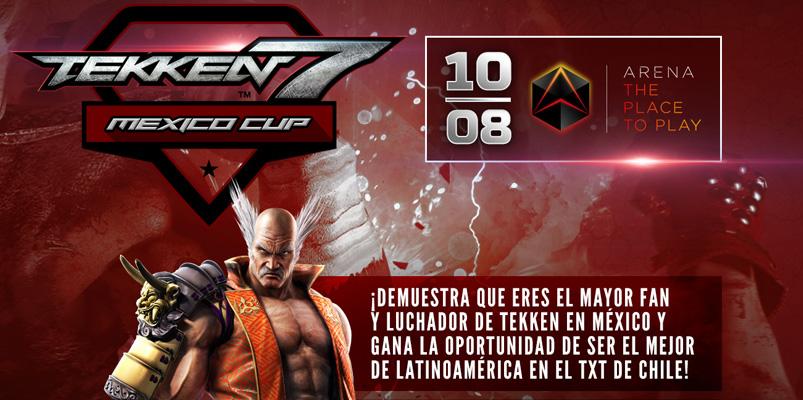 Participa y demuestra que eres el mejor en el Tekken 7 Mexico Cup
