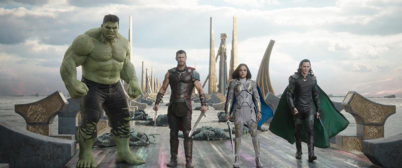 Thor Ragnarok team
