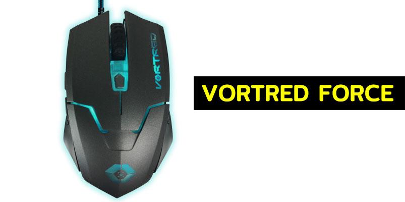 Vortred Force el mouse para videojuegos de acción