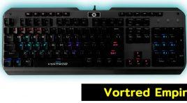 Vortred Empire, el teclado para conquistar mundos y ganar tus partidas