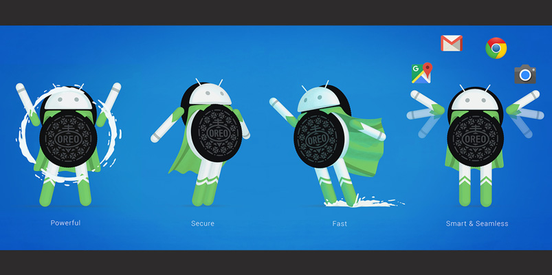 Los smartphones compatibles con Android 8.0 Oreo