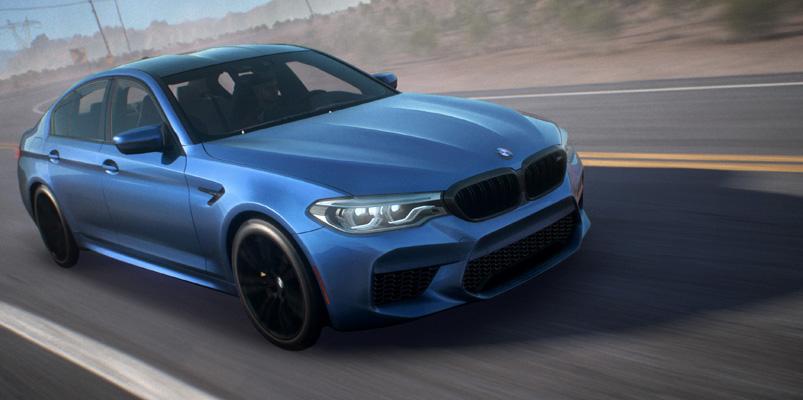 El nuevo BMW M5 debutará en Need For Speed Payback
