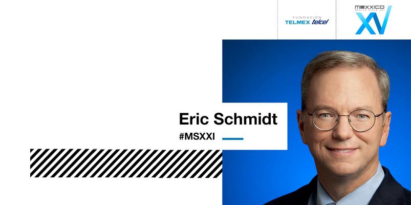 Eric Schmidt estará presente en México Siglo XXI