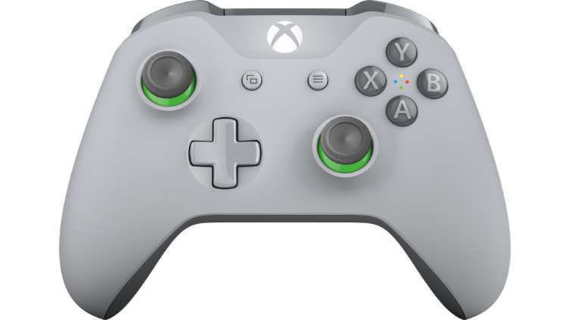 Xbox One Gray and Green