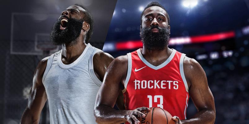 James Harden será el atleta de portada para NBA Live 18
