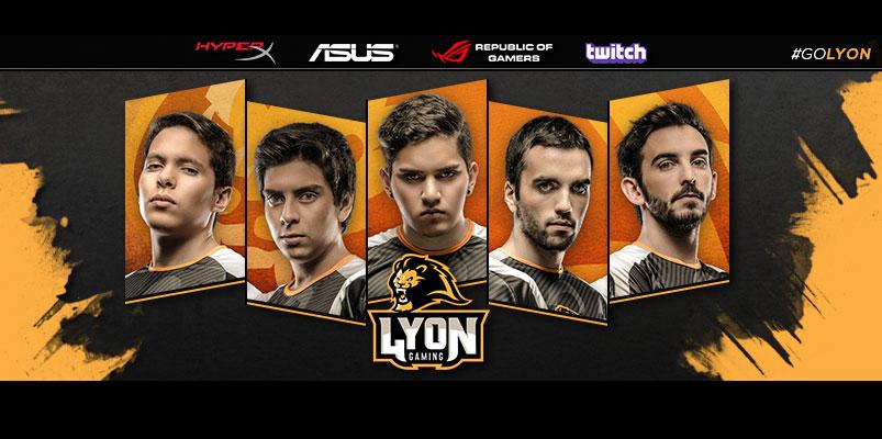 ASUS ROG patrocina al equipo de eSports, Lyon Gaming