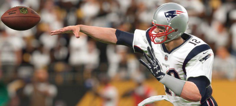Madden NLF 18 Tom Brady