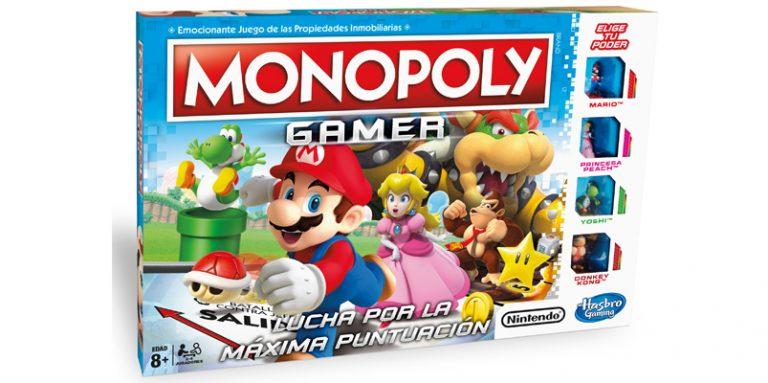 Llega Monopoly Gamer con los personajes de Mario Bros