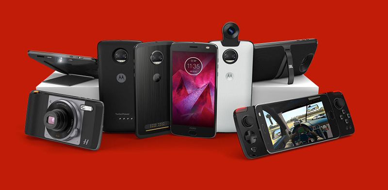 Moto Z2 Force Android Oreo