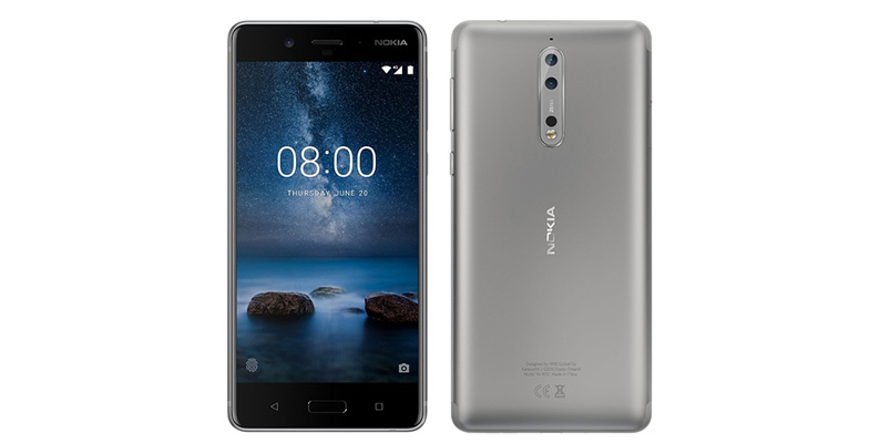 Nokia 8 con doble camara