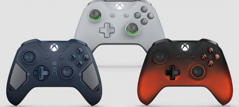 Tres nuevos controles Xbox One