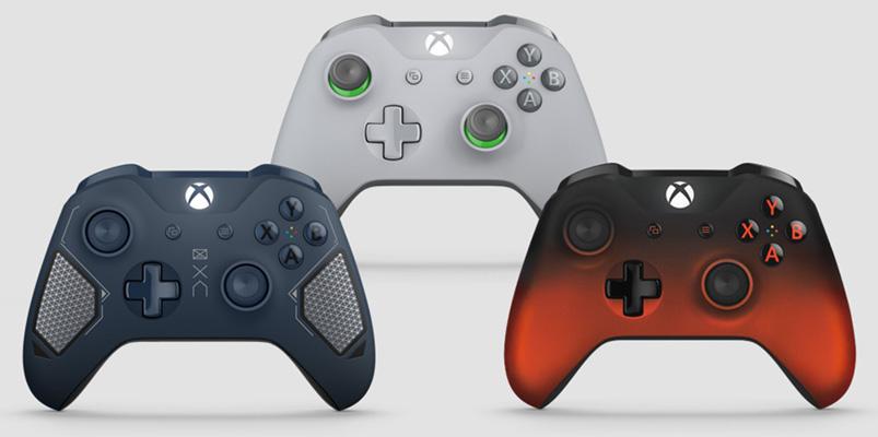 Conoce los tres nuevos controles inalámbricos de Xbox One