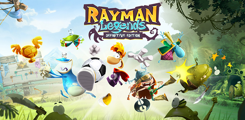Rayman Legends Definitive Edition demo Switch