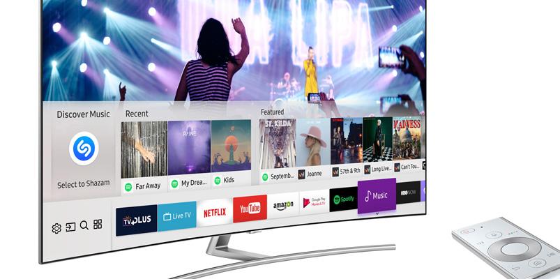 Los Samsung TV y Shazam te dirán cuál es la canción que suena