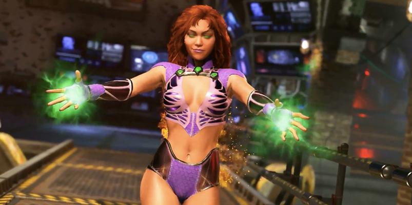 Starfire de Teen Titans ya está disponible en Injustice 2