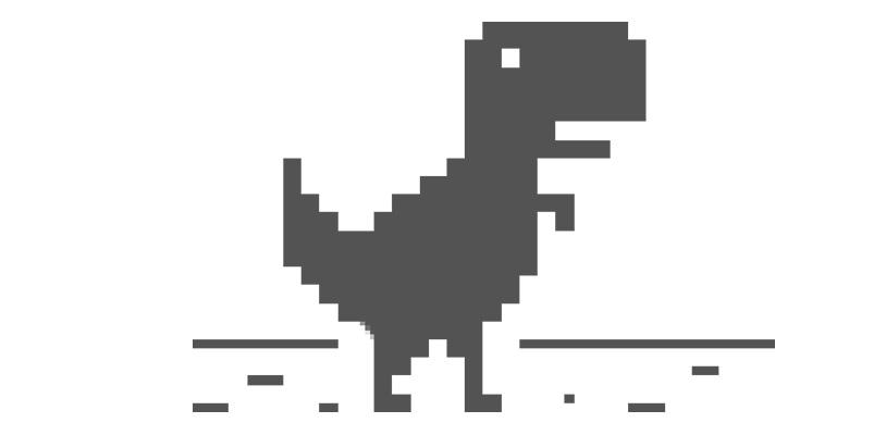 The Jumping Dino, el divertido juego de Chrome en tu Android