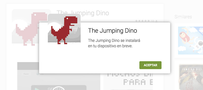 The Jumping Dino