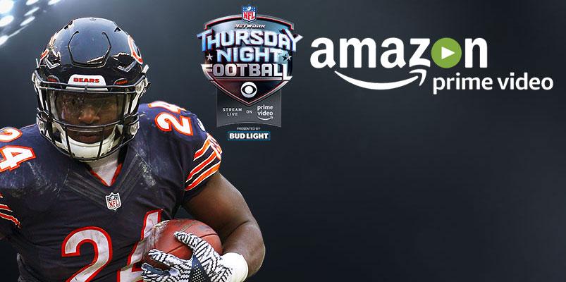 Amazon Prime Video transmite el Thursday Night Football