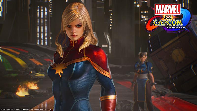 Capcom Marvel vs Capcom Infinite personajes 2017