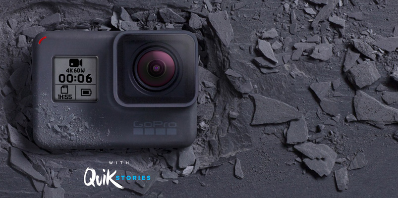 GoPro HERO6 Black para videos en 4K y Slow Motion