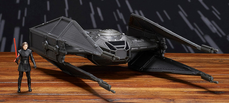 Kylo Rens TIE Silencer