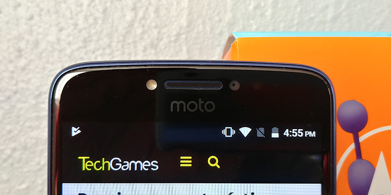 Moto E4 Plus 2017 camara frontal