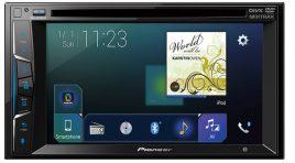 Los autoestéreos de Pioneer Serie Z compatibles con iOS y Android