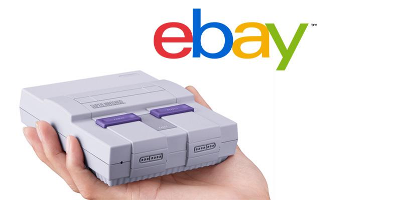 SNES Classic Edition está disponible en eBay México