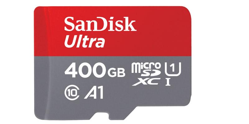 SanDisk Ultra microSD 400GB
