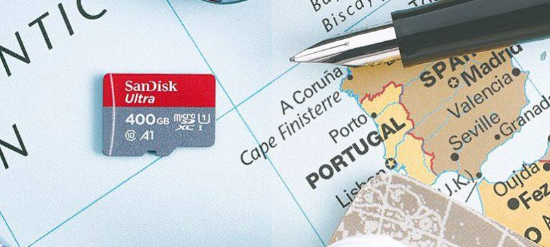 SanDisk microSD 400GB