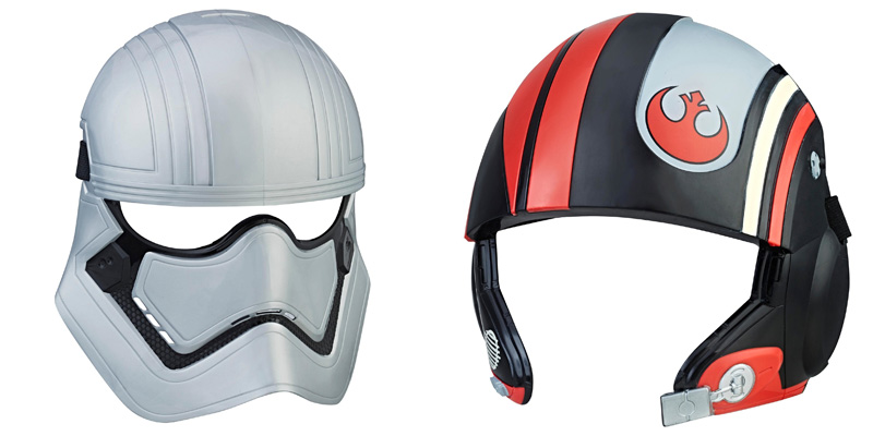 Star Wars The Last Jedi Captain Phasma Poe DAMERON Mask