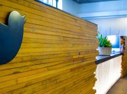 Twitter logo oficinas